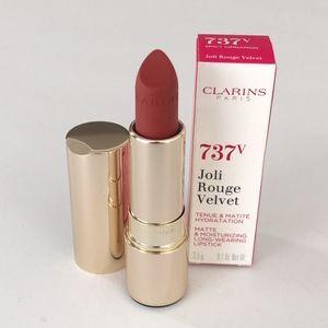 Clarins Joli Rouge Velvet Moisturizing Lipstick